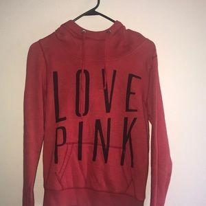 Super cute red Victoria's Secret sweatshirt